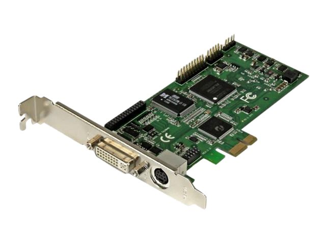 Startech : CARTE D ACQUISITION VIDEO HD PCIE - HDMI DVI VGA COMPOSANTE