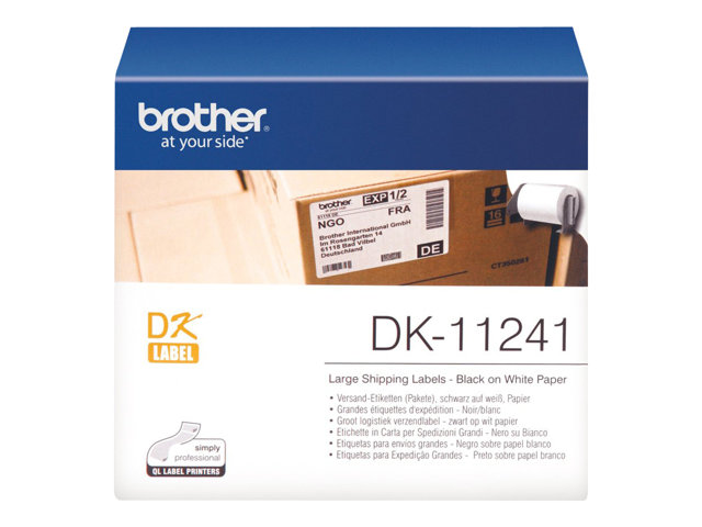Brother : GRANDES ETIQUETTES D EXPEDITION 102 X 152 MM