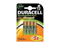 Duracell : ACCU 850 STAY CHARGED AAAX2 HARD