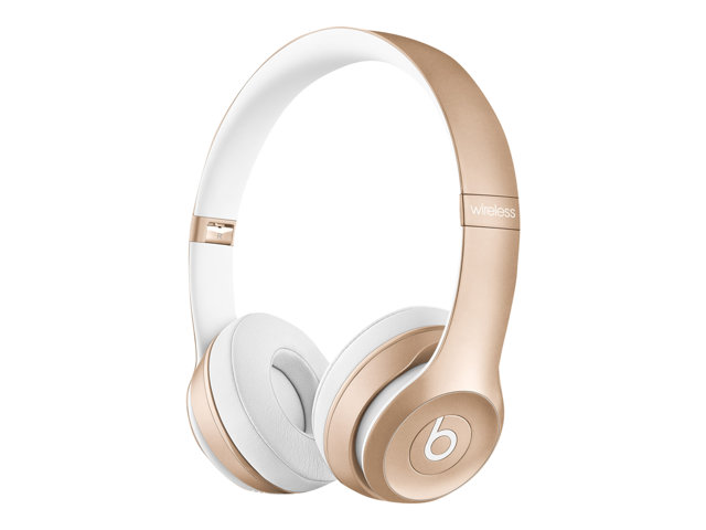 Apple : BEATS SOLO2 WIRELESS HEADPHONE GOLD