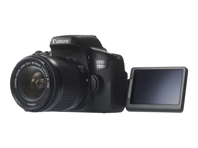 Canon : EOS 750D 18-55MM IS STM + EF-S 3.5-5.6 IS STM