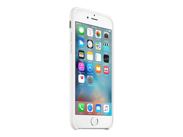 Apple : IPHONE 6S SILICONE CASE WHITE .