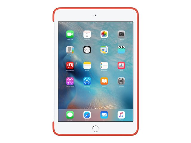Apple : IPAD MINI 4 SILICONE CASE ORANGE