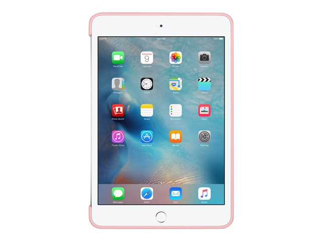 Apple : IPAD MINI 4 SILICONE CASE PINK .