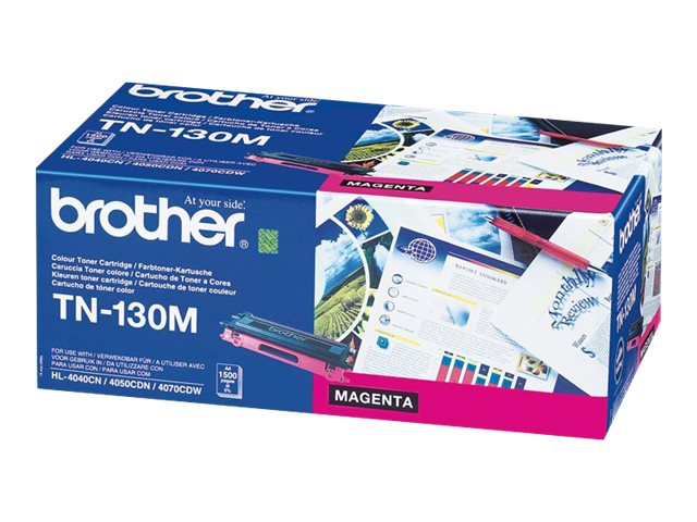 Brother : TN-130M TONER cartridge MAGENTA F/ HL4040CN/4050CDN 1500PGS