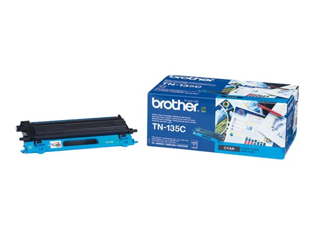Brother : TN-135C TONER cartridge CYAN F/ HL4040CN/4050CDN 4000PGS