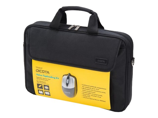 Dicota : VALUE TOPLOADER kit NOTEBOOK CARRYING CASE