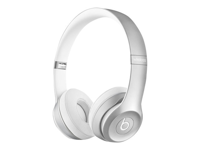 Apple : BEATS SOLO2 ON-EAR HEADPHONES (LUXE EDITION) - SILVER
