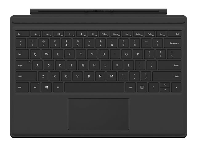 Microsoft : SURFACE ACC TYPE COVER 4 KEYBOARD BLACK fr