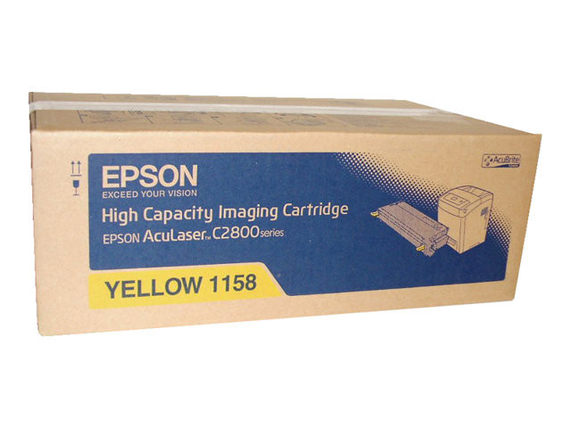 Epson : HIGH CAPACITY IMAGING cartridge YELLOW F/ ACULASER C2800