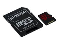 Kingston : 128GB MICRO SDXC UHS-I U3 90MB/S READ 80MB/S WRITE