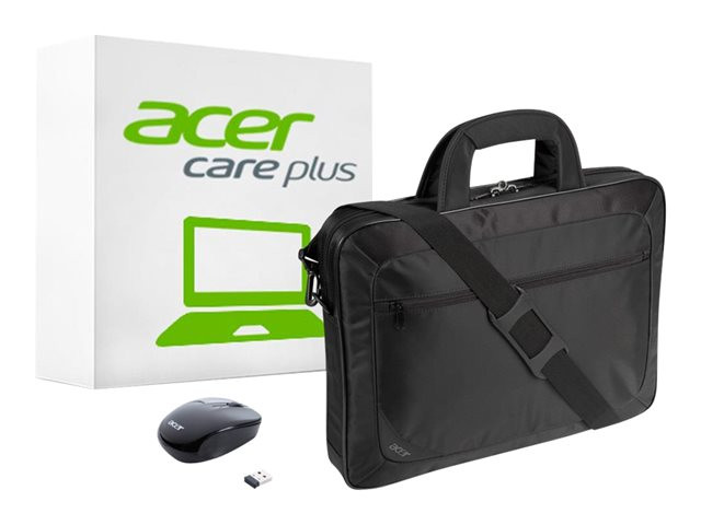 Acer : OPTION pack 15.3IN CARE BASIC A EDG 3 ANS + SACOCHE + SOURIS