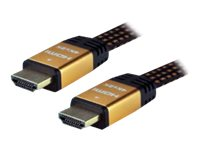 MCL Samar : HIGH SPEED FLAT HDMI cable ETHERNET 3D 47 MALE/MALE 5M