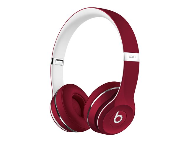 Apple : BEATS SOLO2 ON-EAR HEADPHONES (LUXE EDITION) - RED