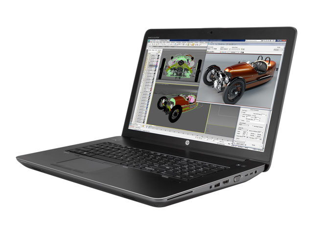 HP : ZBOOK 17 CI7-6700HQ 256GB 4GB 17.3IN NOOD W10P64 fr (ci7-g6)