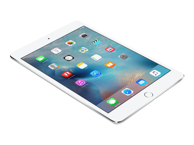 Apple : IPAD MINI 4 WI-FI CELL A8 128GB 7.9IN IOS 9 SILVER (apu)