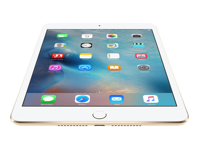 Apple : IPAD MINI 4 WI-FI CELL A8 128GB 7.9IN IOS 9 GOLD (apu)