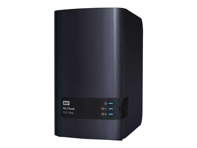 WD : MY CLOUD EX2 ULTRA 3.5IN 2 BAY EMPTY 2X USB3.0
