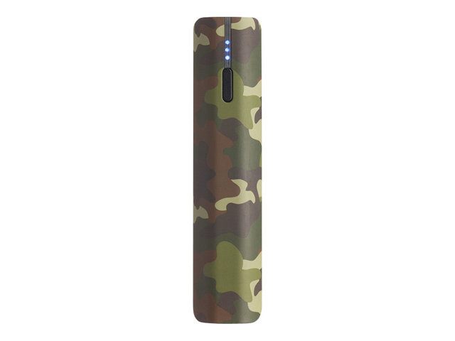 PNY : POWERpack T2600 PATTERNS CAMo 1XUSB 1X 1.0AMP OUTPUT LED