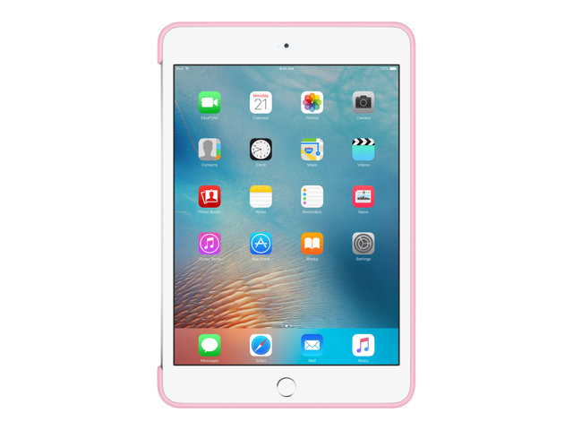 Apple : IPAD MINI 4 SILICONE CASE LIGHT PINK