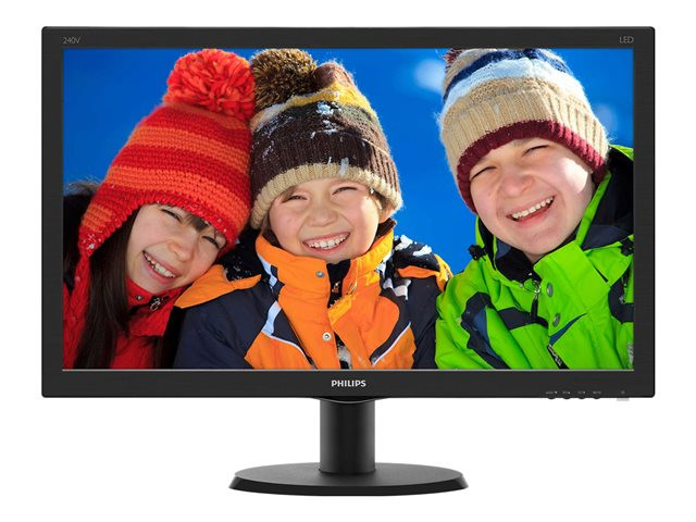 Philips : 23.8IN IPS 1920X1080 FHD 16:9 10M:1 5MS VGA DVI HDMI EPEAT sp