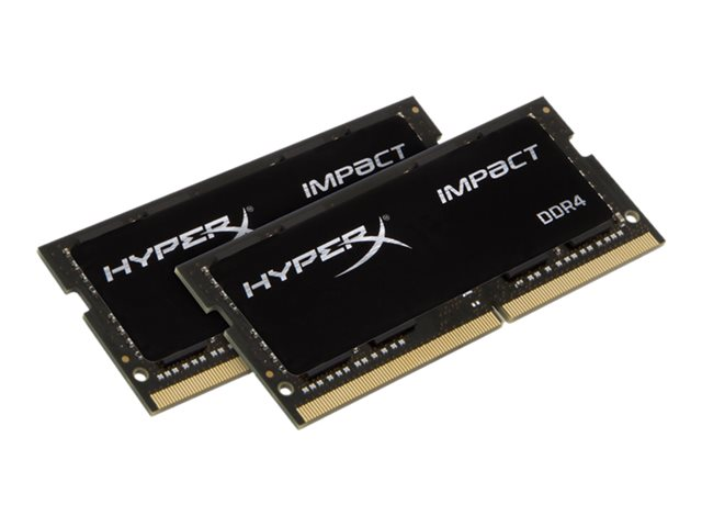 Kingston : 32GB DDR4-2133MHZ CL13 SODIMM (kit OF 2) HYPERX IMPACT
