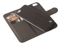 Krusell : KRUSELL MALMOE WALLET+COVER 2IN1 pour IPHONE 6 BLACK