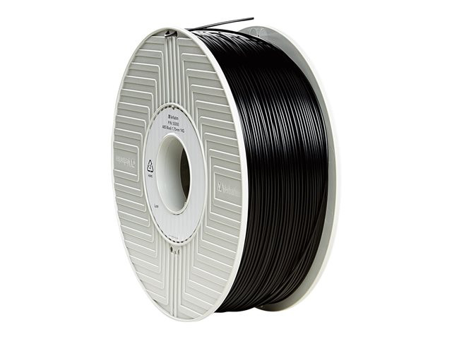 Verbatim : VERBATIM 3D printer FILAMENT ABS 2.85MM 1KG BLACK