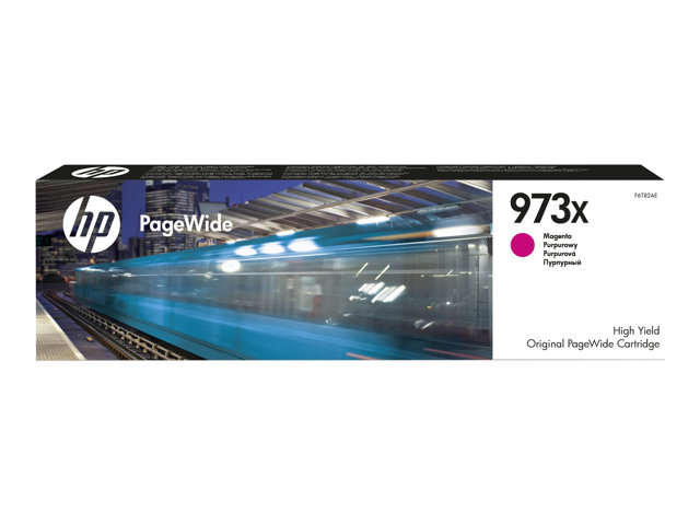 HP : Cartouche encre No 973X MAGENTA PAGEWIDE / HIGH YIELD