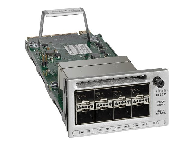 Cisco : CATALYST 3850 8 X 10GE NETWORK module en