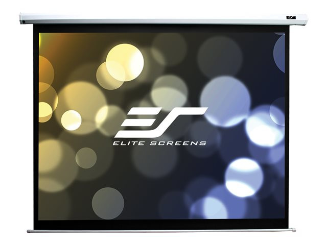 Elite Screen : ECRAN ELECTR-195X120-RATIO16:10 DIAG:228CM-RECEPT IR&RF-NOIR (10.18kg)