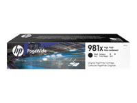 HP : Cartouche Encre 981X BLACK HIGH YIELD