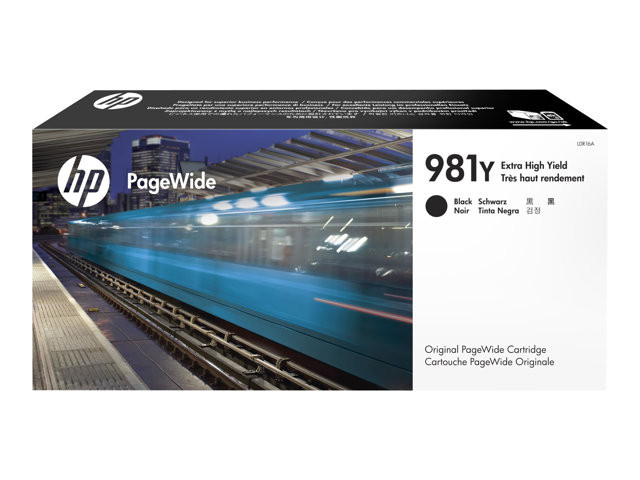 HP : Cartouche Encre 981Y BLACK EXTRA HIGH YIELD