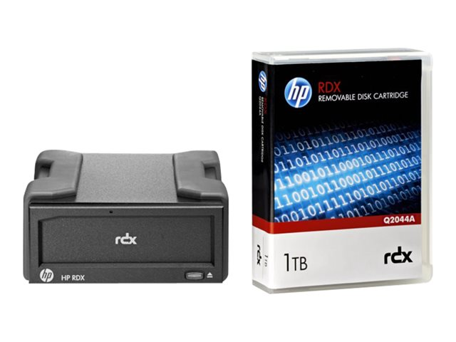 HP : RDX+ 1TB EXTERNAL BACKUP SYSTEM