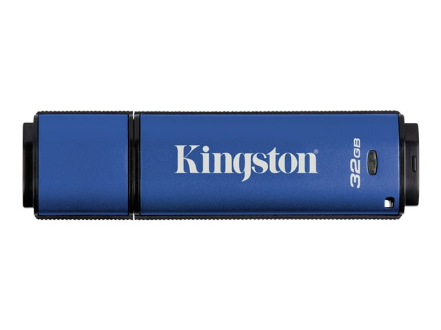 Kingston : 32GB DTVP30 256BIT AES FIPS 197 MANAGEMENT READY