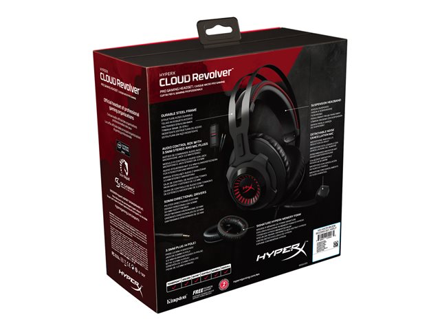 Kingston : HYPERX CLOUD REVOLVER PRO GAMING HEADSET