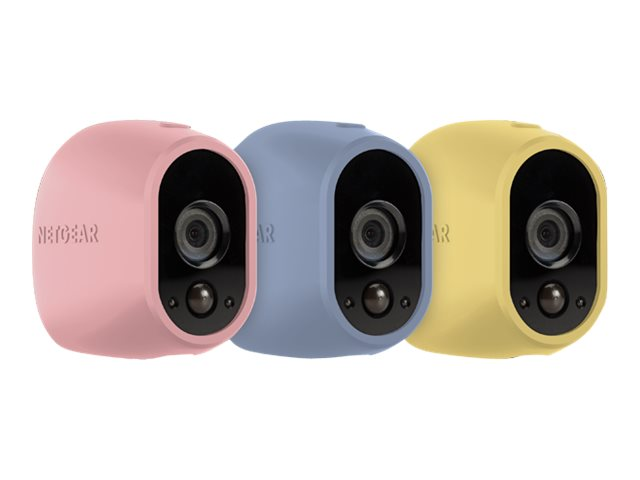 Netgear : ARLO 3 SILICON COVERS 1X PINK LIGHT BLUE YELLOW