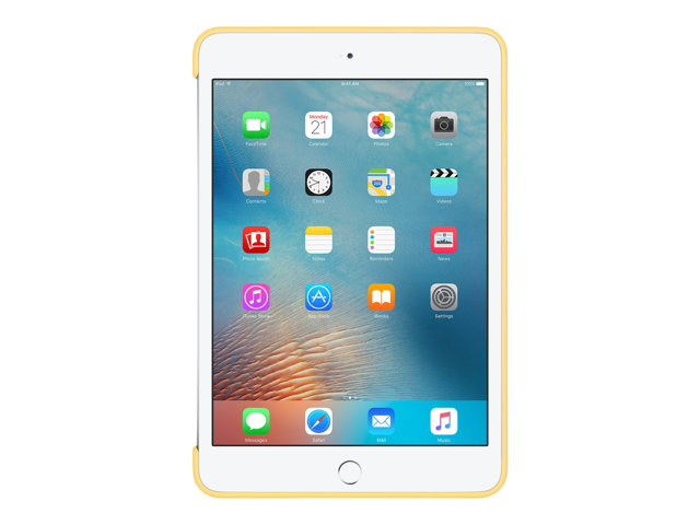 Apple : IPAD MINI 4 SILICONE CASE YELLOW