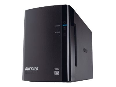 Buffalo Technology : DRIVESTATION DUO 8TB USB 3.0 2X 4TB HDD RAID 0/1