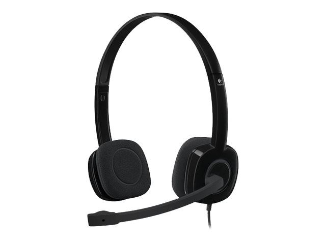 Logitech : CASQUE MICRO H151 STEREO HEADSET 1 X JACK3 5MM MƒLE STERE